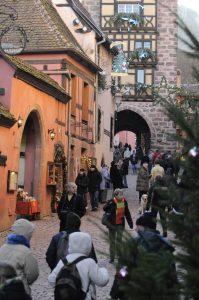 Riquewihr village alsace