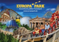 Europapark parc attraction
